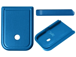 NDZ Blue Magazine Plate for Glock 10MM .45 (*LZ)