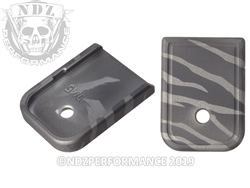 Magazine Plate Glock Black & Tungsten Tiger Stripe