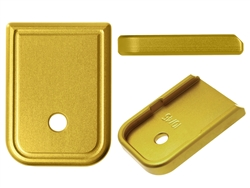 NDZ Gold Magazine Plate for Glock 10MM .45 (*LZ)
