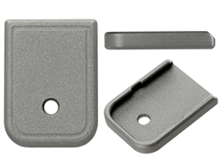 Aftermarket Glock Magazine Base Plate 10MM 45 In Cerakote Tungsten | NDZ Performance