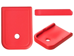 Aftermarket Glock Magazine Base Plate 10MM 45 In Cerakote USMC Red | NDZ Performance