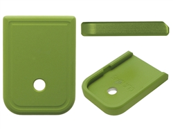 Aftermarket Glock Magazine Base Plate 10MM 45 In Cerakote Zombie Green | NDZ Performance