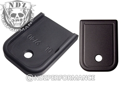 NDZ Black Magazine Plate for Glock 9MM .40 (*LZ)