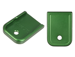 NDZ Green Magazine Plate for Glock 9MM .40 (*LZ)