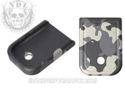 Magazine Plate Glock Gen 5 9mm 40 Black & Grey