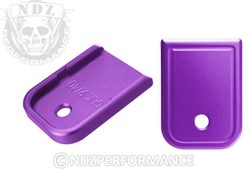 NDZ Purple Magazine Plate for Glock 9MM .40 (*LZ)