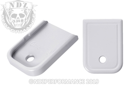 Magazine Plate for Glock Gen Cerakote White