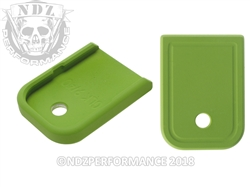 Aftermarket Glock Gen 1-5 Magazine Base Plate 9MM 40 In Cerakote Zombie Green | NDZ Performance