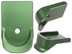 NDZ Green Finger Extended Magazine Plate for Glock 10MM .45 (*LZ)