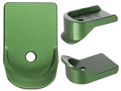 NDZ Green Finger Extended Magazine Plate for Glock 9MM .40 GRN (*LZ)