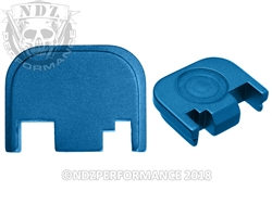 NDZ Blue Rear Plate for Glock Gen 1-4 (*LZ)