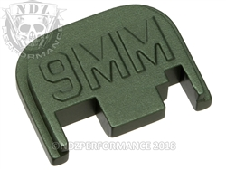 Green Glock Slide Plate Gen 1-4 9Mm 3D Sub