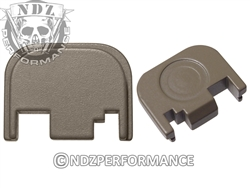 NDZ Gun Kote FDE Rear Plate for Glock Gen 1-4