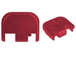 NDZ Red Glock Back Plate fits Gen 1-4 (*LZ)