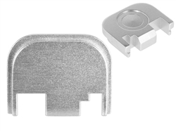 NDZ Silver Rear Plate for Glock Gen 1-4 (*LZ)