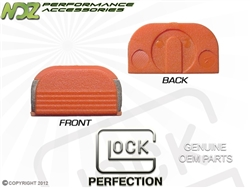 Glock OEM Orange Rear Slide Cover Plate SP05865 Gen 1-5