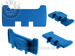 NDZ Blue Slide Racker Plate for Glock Gen 1-5 (*LZ)