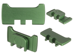 NDZ Green Slide Racker Plate for Glock Gen 1-5 (*LZ)
