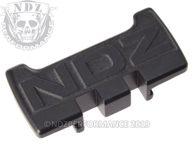 NDZ Black Glock Gen 1-5 Rear Slide Racker Plate