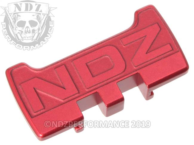 NDZ Red Glock Gen 1-5 Rear Slide Racker Plate