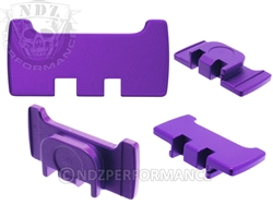 NDZ Purple Slide Racker Plate for Glock Gen 1-5 (*LZ)