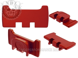 NDZ Red Slide Racker Plate for Glock Gen 1-5 (*LZ)