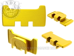 NDZ Gold Slide Racker Plate for Glock Gen 1-5 (*LZ)