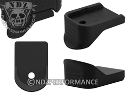 NDZ Black Magazine Plate Finger Extension for Glock 26 27 33 39 (*LZ)