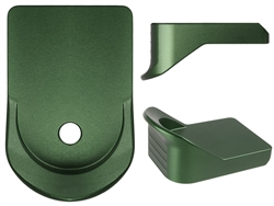 NDZ Green Magazine Plate Finger Extension for Glock 26 27 33 39 (*LZ)