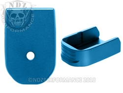 NDZ Blue Magazine Plate for Glock 30 10 Round Magazine (*LZ)