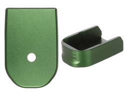 NDZ Green Magazine Base Plate For Glock 30 10 Round Magazine