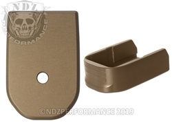 NDZ HCFDE Magazine Base Plate For Glock 30 10 Round Magazine