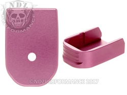 NDZ Pink Magazine Base Plate For Glock 30 10 Round Magazine