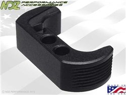 NDZ Black Extended Magazine Release - Reversible for Glock 42 (*LZ)