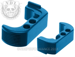 NDZ Blue Extended Magazine Release - Reversible for Glock 42 (*LZ)