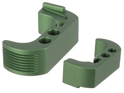 NDZ Green Extended Magazine Release - Reversible for Glock 42 (*LZ)