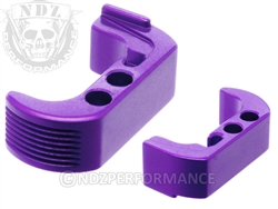 NDZ Purple Extended Magazine Release - Reversible for Glock 42 (*LZ)