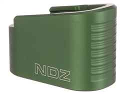NDZ Green Plus Two Magazine Plate Extension for Glock 42 (*LZ)