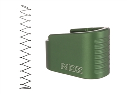 NDZ Green Plus Two Magazine Plate with Ghost Magazine Spring for Glock 42 (*LZ)