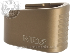 NDZ HCFDE Plus Two Magazine Plate Extension for Glock 42 (*LZ)