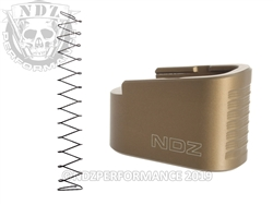 NDZ HCFDE Plus Two Magazine Plate with Ghost Magazine Spring for Glock 42 K1 (*LZ)