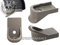 NDZ Gun Kote FDE Magazine Plate Finger Extension for Glock 42