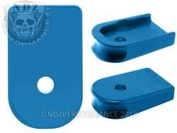 NDZ Blue Magazine Plate for Glock 42 (*LZ)