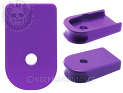 NDZ Purple Magazine Plate for Glock 42 (*LZ)