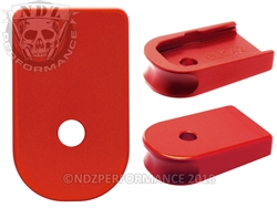NDZ Red Magazine Plate for Glock 42 (*LZ)