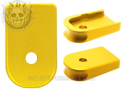 NDZ Gold Magazine Plate for Glock 42 (*LZ)