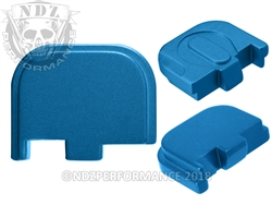 NDZ Blue Glock Back Plate fits 42 (*LZ)