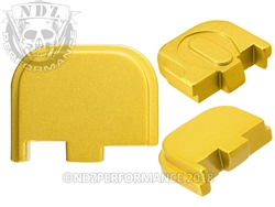 NDZ Gold Glock Back Plate fits 42 (*LZ)