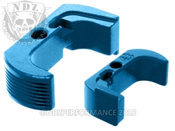 Glock 43 Reversible Magazine Release - NDZ Performance Aluminum Upgrade - Blue