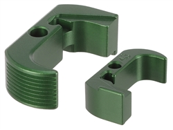Glock 43 Reversible Magazine Release - NDZ Performance Aluminum Upgrade - Green